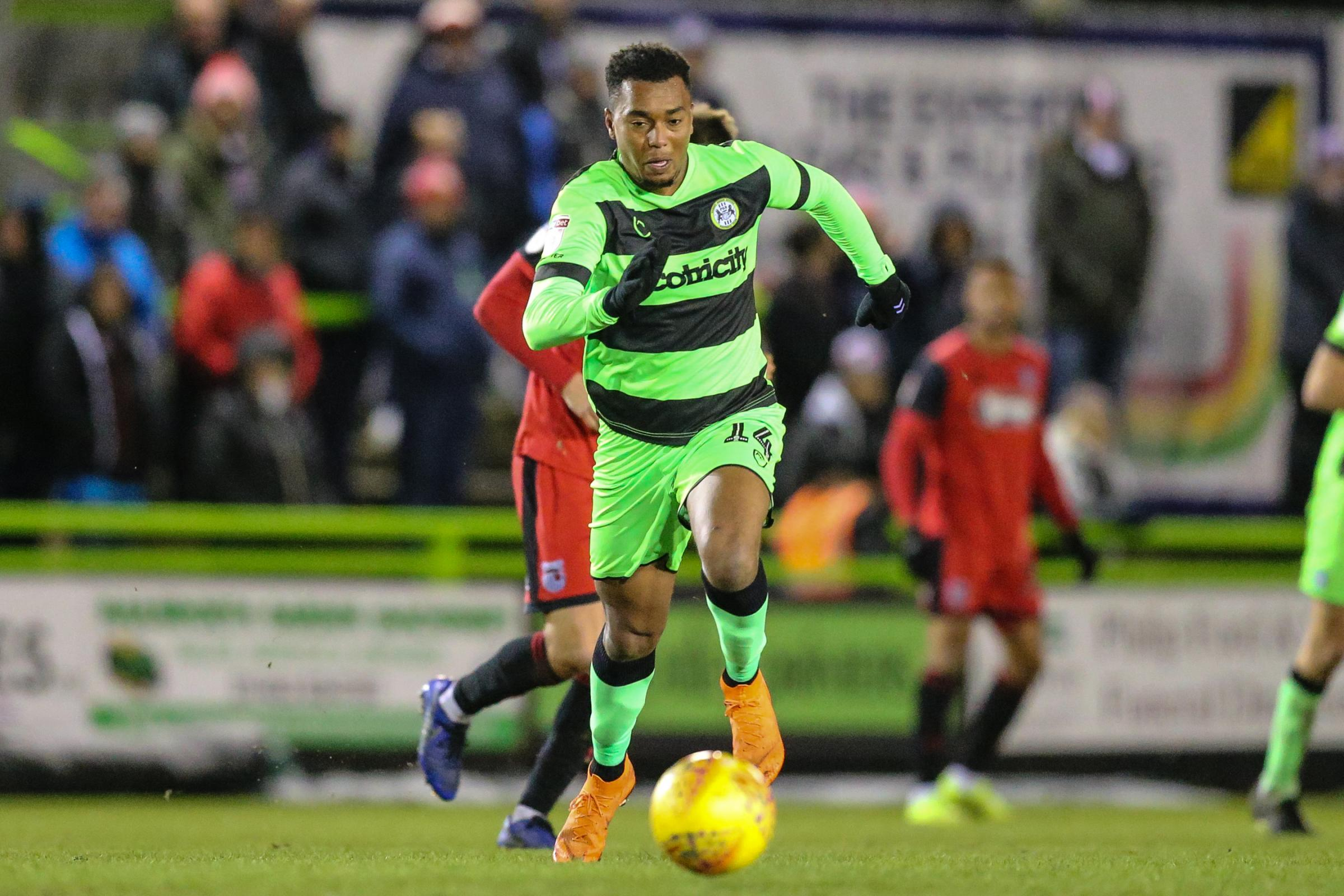 Forest Green striker moves to Gillingham on loan