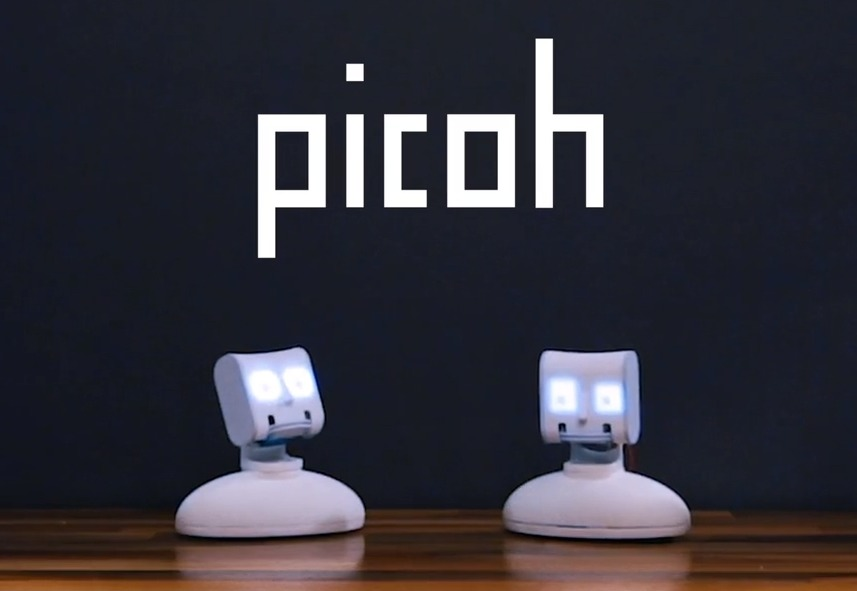 Ohbot Ltd has launched a new programmable talking head called Picoh