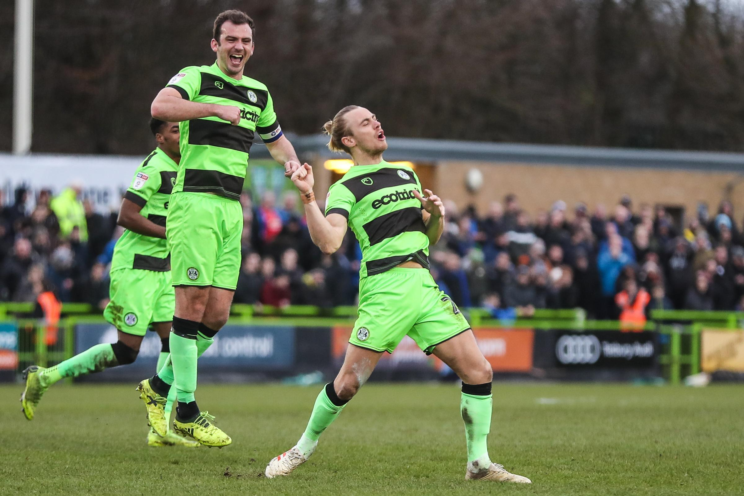 FULL-TIME:  Forest Green 1 Notts County 2  Basement- boys Notts County rock Rovers