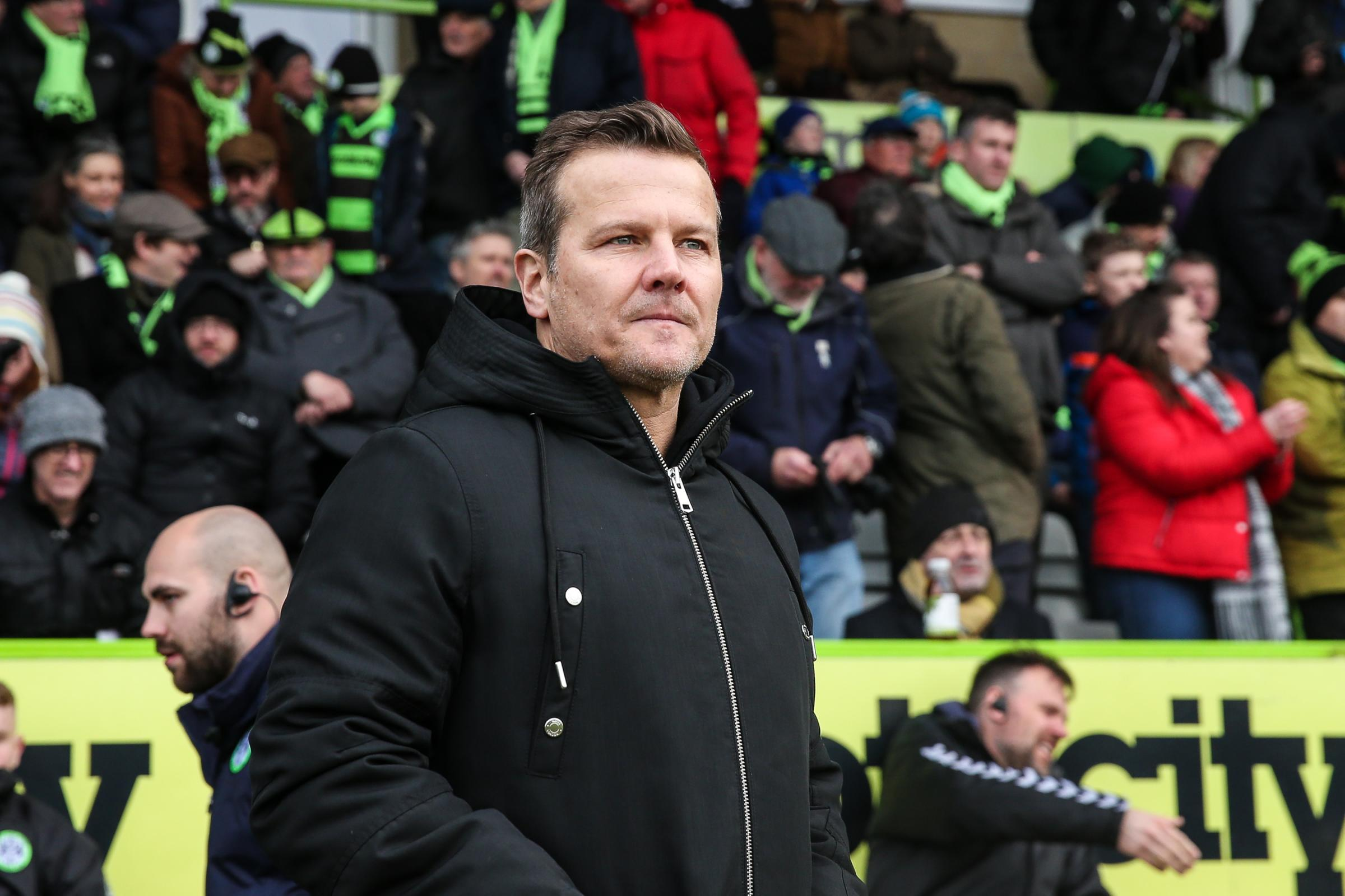 Mark Cooper press conference - Forest Green boss on Notts County defeat, tactics, pitch and fans