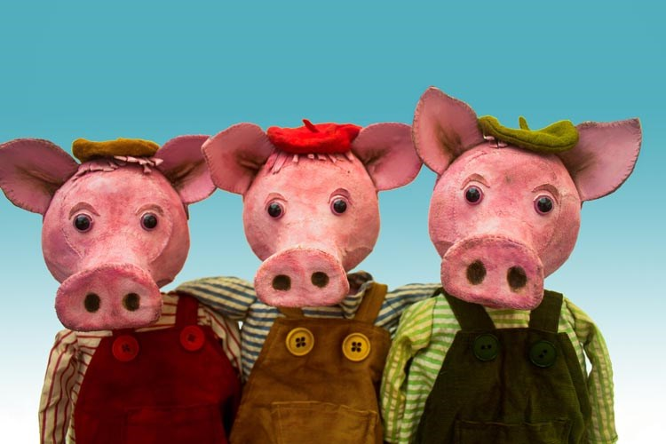 Three Little Pig Tales