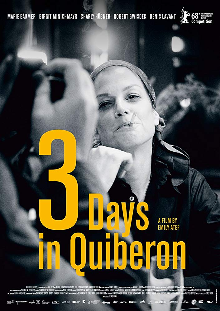 Film Club presents 3 Days in Quiberon