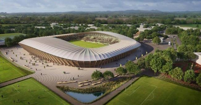 New Forest Green Rovers stadium