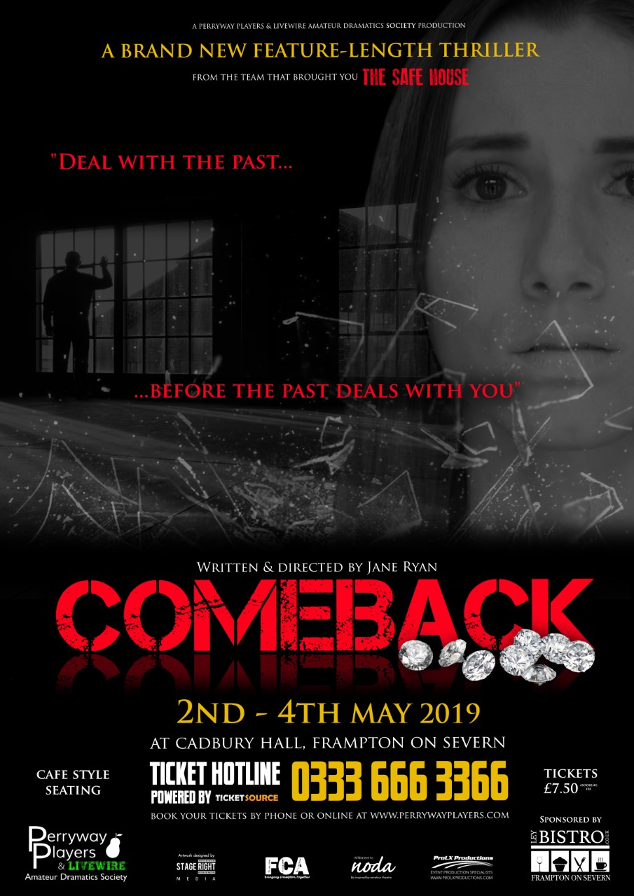 Perryway Players present the thriller 'Comeback'
