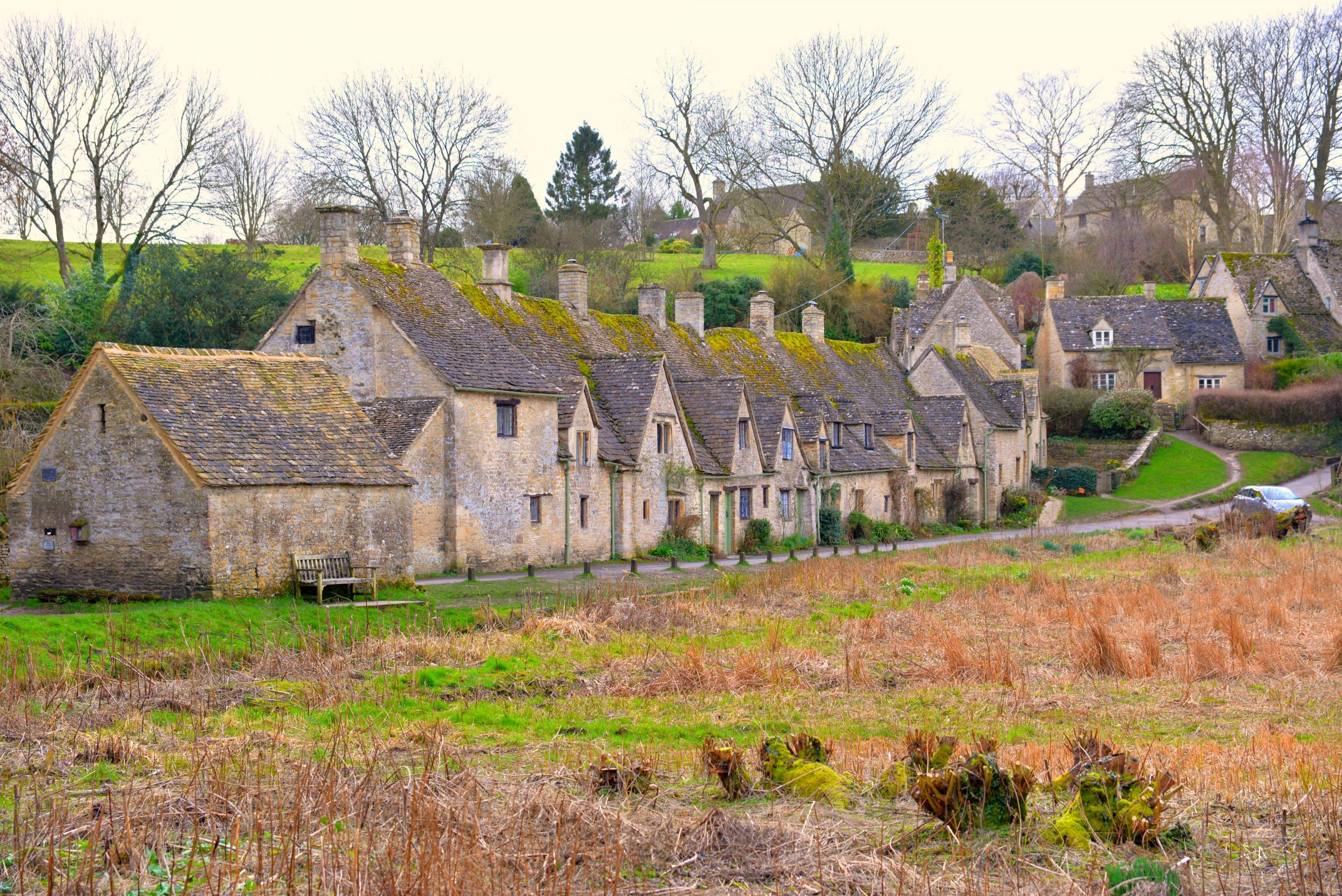 Arlington Row in Bibury. Bibury is holding its first Literary Festival this weekend