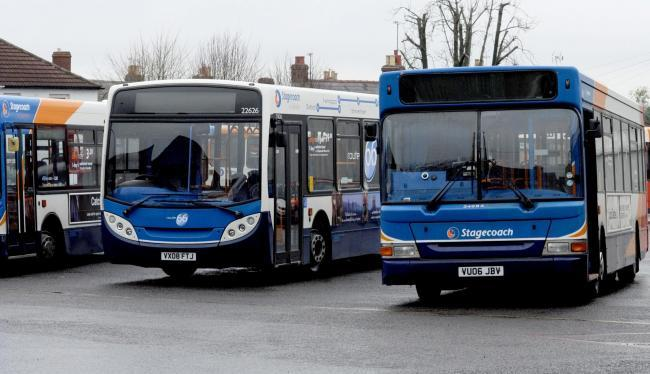 StagecoachWest are hiding 25 Easter eggs on their buses