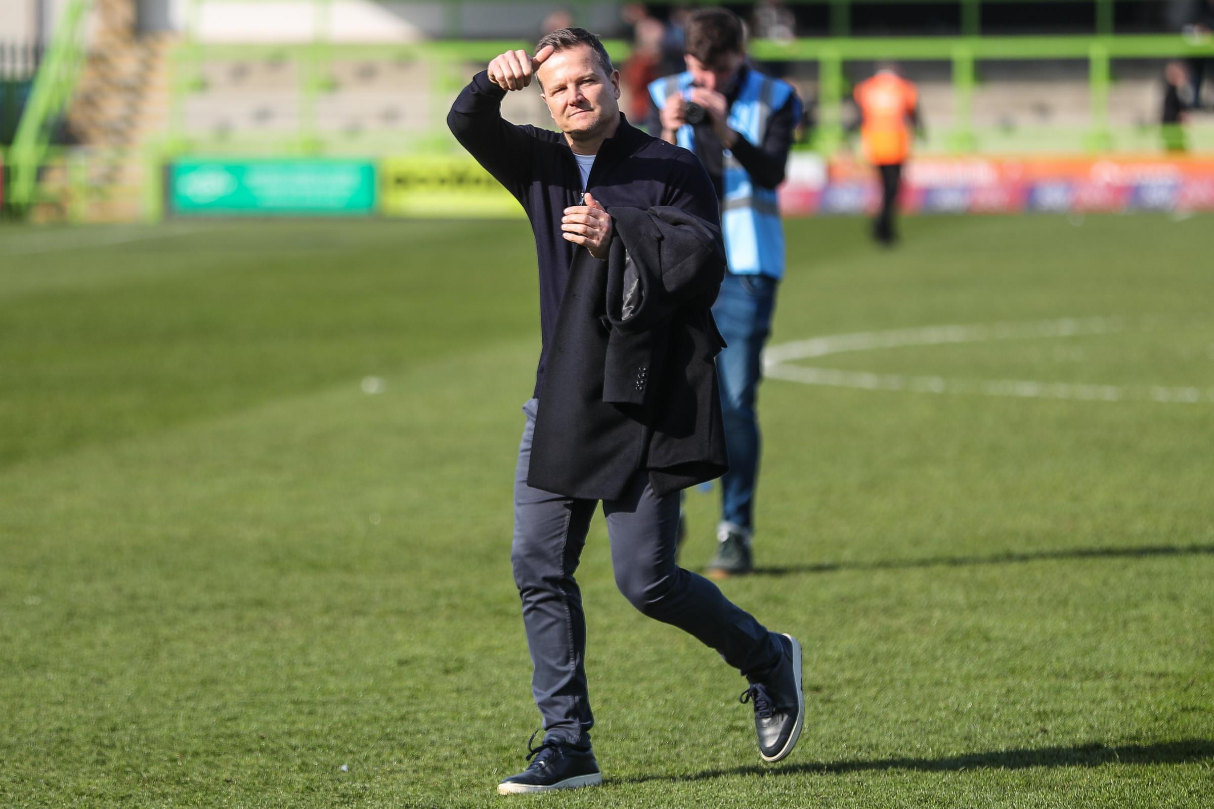 FGR boss Mark Cooper     Pic: Shane Healey/ Pro Sports Images