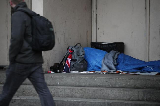 A building could be bought and turned into shelter for the homeless