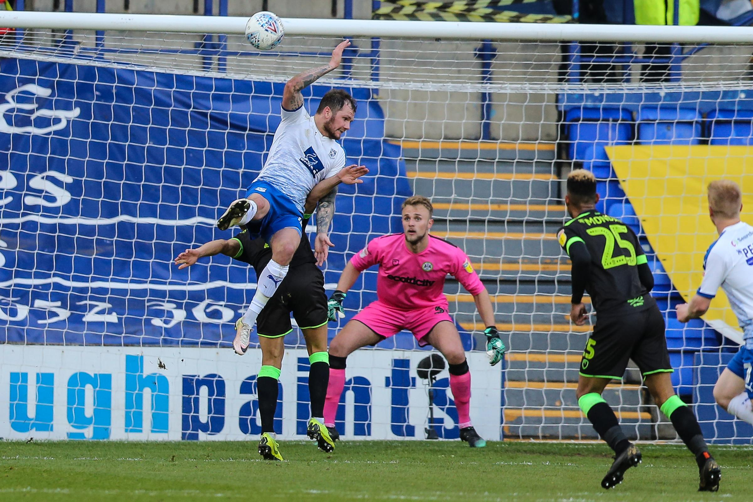 James Norwood should have been sent off, according to fan John Light            Pic: Shane Healey/ Pro Sports Images