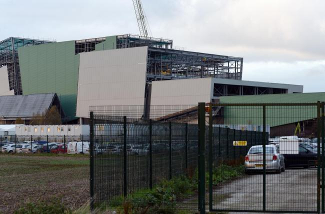 Javelin Park incinerator. Photo Simon Pizzey