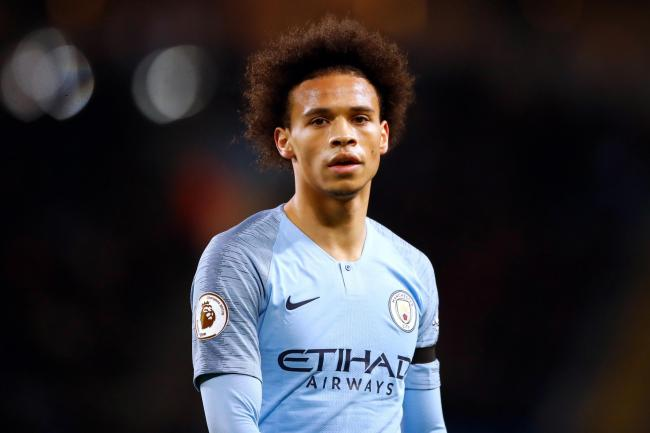 Leroy Sane has had limited starting roles for City in recent months (Martin Rickett/PA)