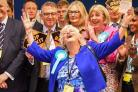 Anne Widdecombe was elected for the Brexit Party in the South West of England (Picture: PA)